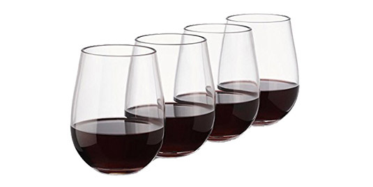 FREE Gift > Stemless Balloon Wine Glasses – Set of 4 – Exp 6/30/21