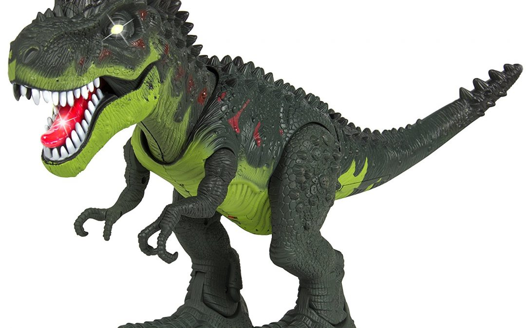 T-Rex Action Figure w/ Light/Sound, Realistic Movement ONLY $14.99 Was $50.99