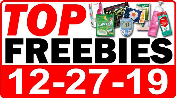 Top Freebies for December 27, 2019
