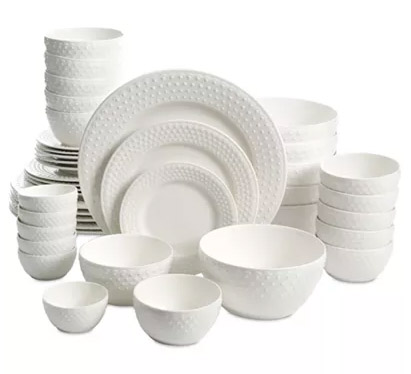 42-Pc. Dinnerware Sets ONLY $39.99 Was $120