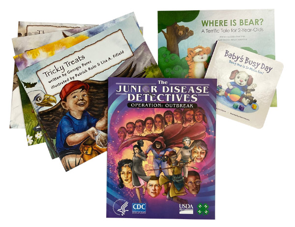 FREE Books for Children from the CDC