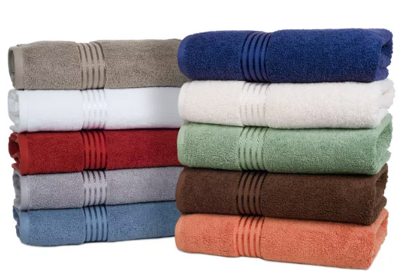 FRESHEN UP with $15 FREE to Spend on Towels & Linens Exp 1/26/20