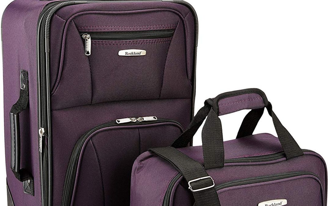 ONLY $26.99 for this Luggage Set w/ 4,000+ 5 Star Reviews!
