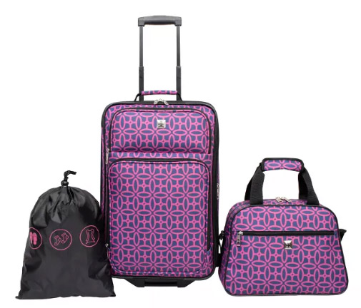 3pc Luggage Set ONLY $24.99