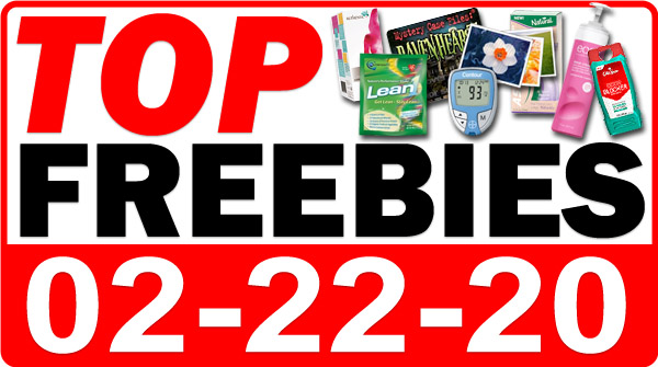Top Freebies for February 22, 2020