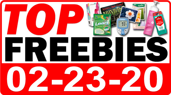 Top Freebies for February 23, 2020
