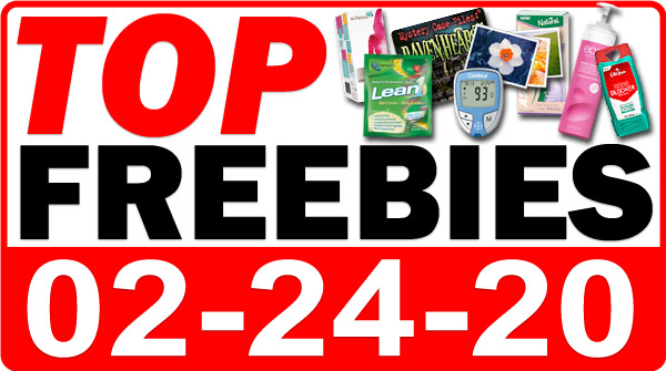 Top Freebies for February 24, 2020