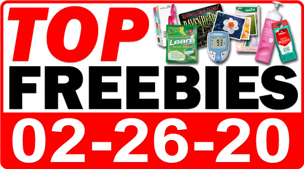 Top Freebies for February 26, 2020