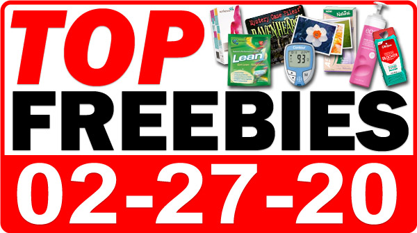 Top Freebies for February 27, 2020