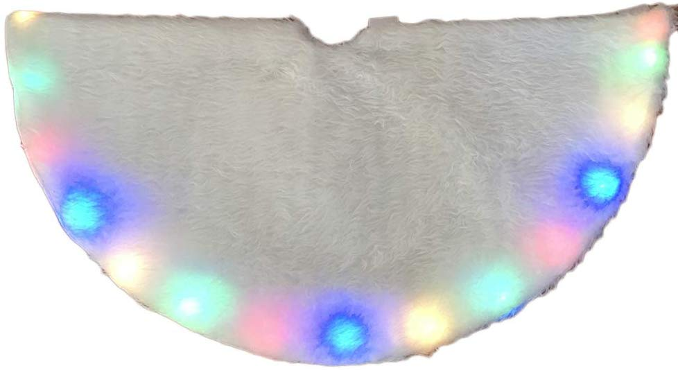 Lighted Christmas Tree Skirt ONLY $9.32 Was $49.99