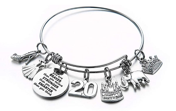 FUN! Birthdate Bangle Bracelets – Ages 5 – 90 from ONLY $8.01 – 83% OFF