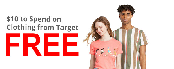 $10 FREE to Spend on Clothing from Target! Exp 3/22/20