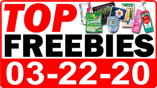 Top Freebies for March 22, 2020