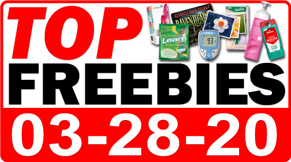 Top Freebies for March 28, 2020