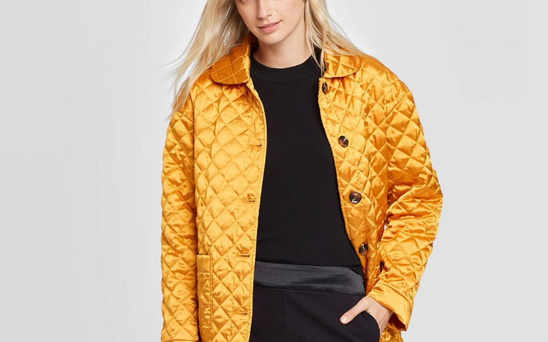 75% OFF > Women's Quilted Satin Jacket > NOW ONLY $13.74