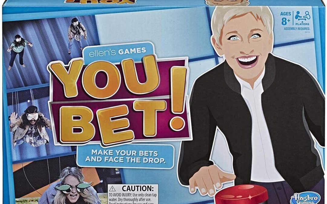 Ellen's Games You Bet ONLY $8.10 + FREE Shipping