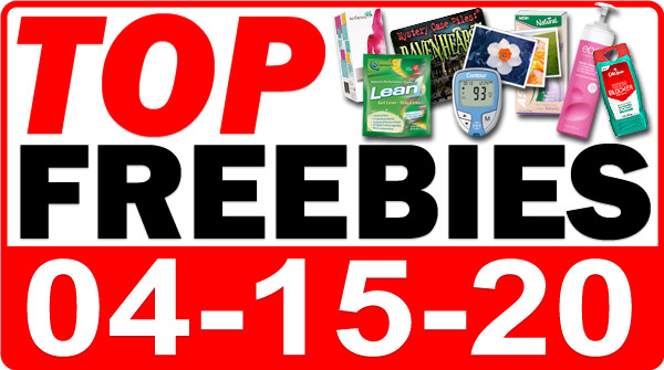 Top Freebies for April 15, 2020