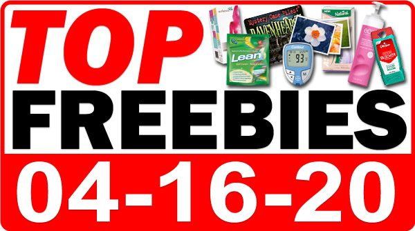 Top Freebies for April 16, 2020