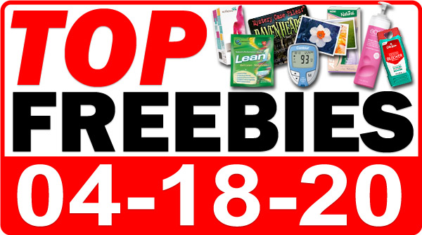 Top Freebies for April 18, 2020