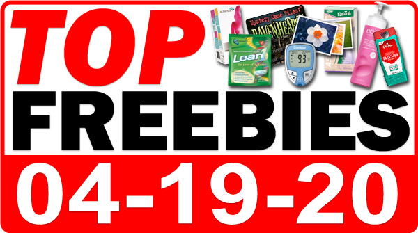 Top Freebies for April 19, 2020