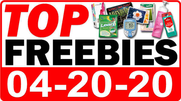 Top Freebies for April 20, 2020