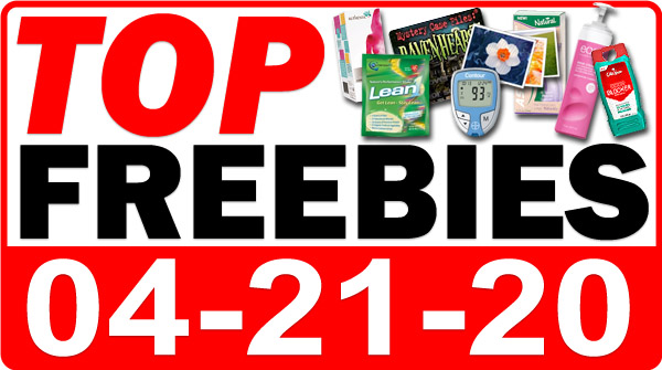 Top Freebies for April 21, 2020