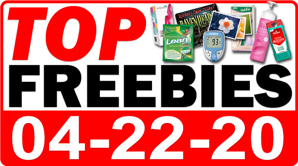 Top Freebies for April 22, 2020
