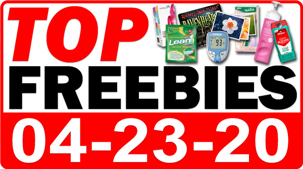 Top Freebies for April 23, 2020