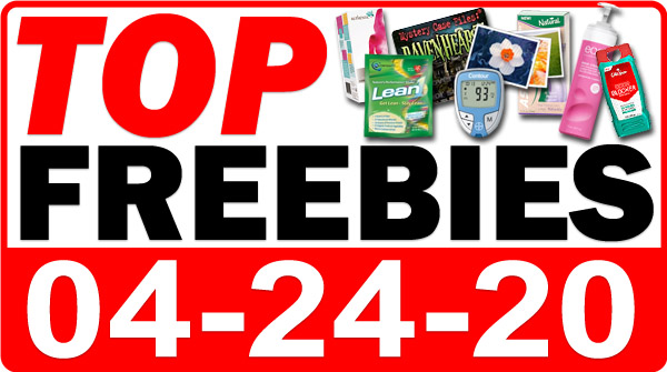 Top Freebies for April 24, 2020