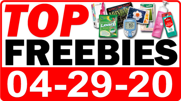 Top Freebies for April 29, 2020