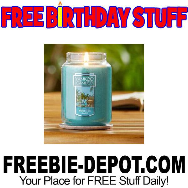 FREE BIRTHDAY STUFF – Yankee Candle