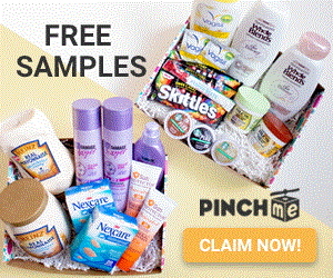 Boxes & Boxes of FREE Samples in the Mail!