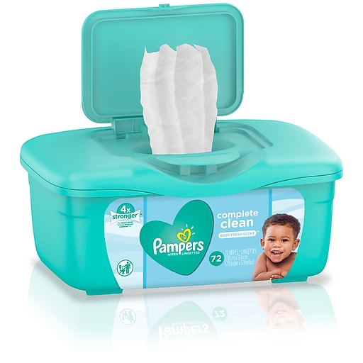 GO NOW!  FREE Pampers Baby Wipes – TWO TUBS! Exp 5/31/20
