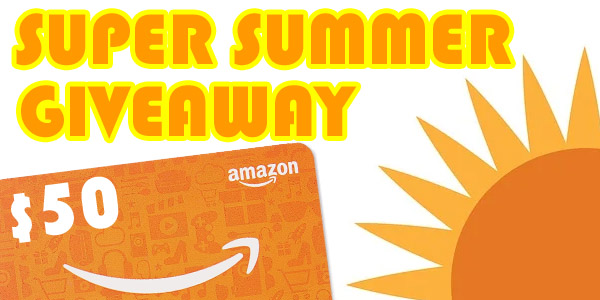 Super Summer Giveaway! Win a FREE $50 Amazon Gift Card