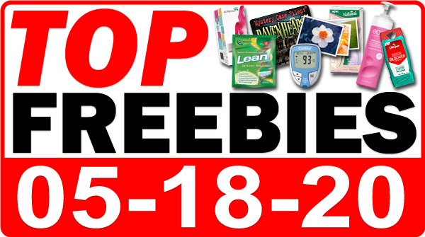 Top Freebies for May 18, 2020