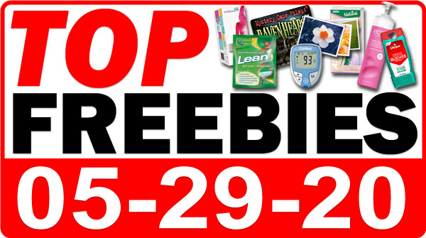 Top Freebies for May 29, 2020