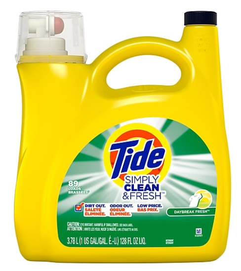 ACT FAST! FREE Tide Laundry Detergent – 128 oz – $10 Value – Exp 6/7/20