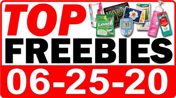 Top Freebies for June 25, 2020