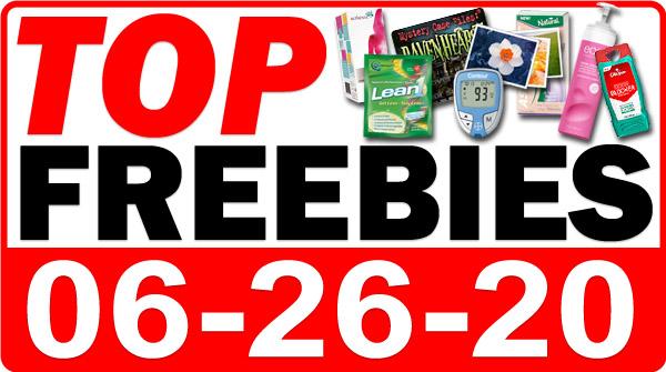 Top Freebies for June 26, 2020
