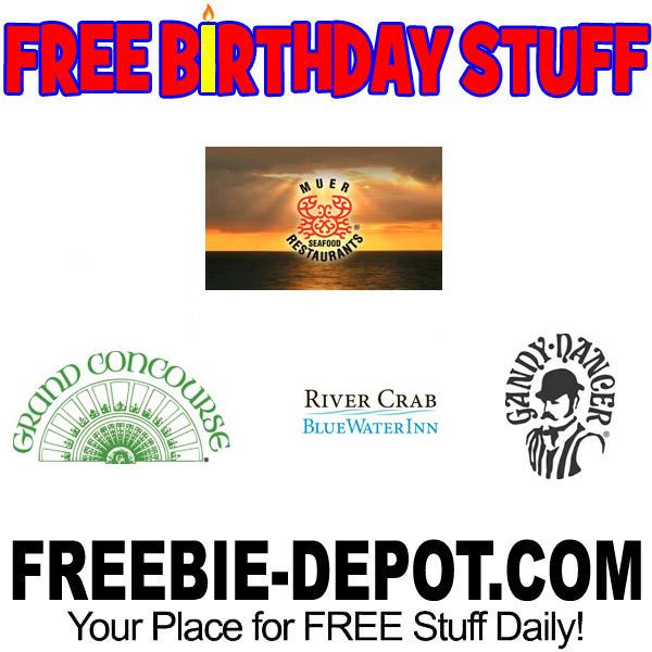 BIRTHDAY FREEBIE – Muer Seafood Restaurants