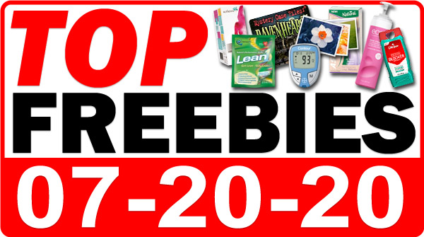 Top Freebies for July 20, 2020