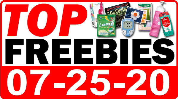 Top Freebies for July 25, 2020