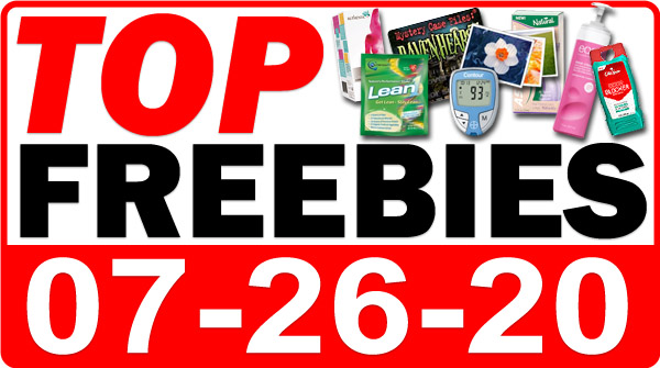 Top Freebies for July 26, 2020