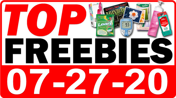Top Freebies for July 27, 2020