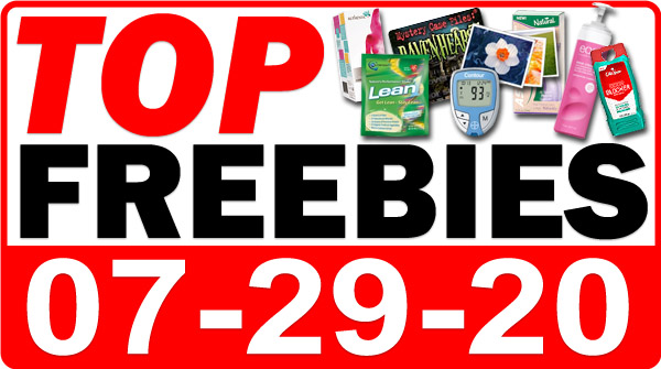 Top Freebies for July 29, 2020