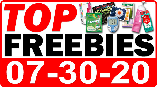 Top Freebies for July 30, 2020