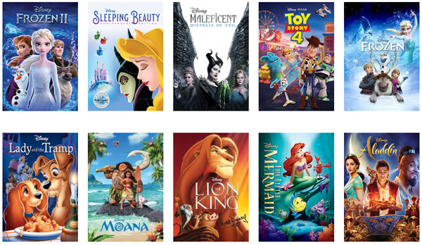 MAGICAL DEAL >>>>> 4 Disney Movies for ONLY $1!