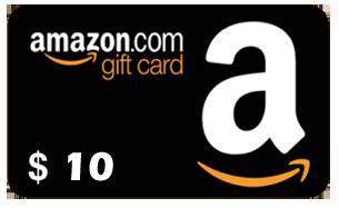 FREE $10 Amazon Gift Card!