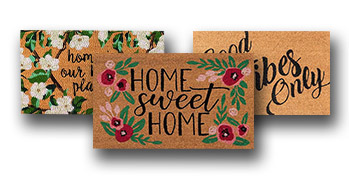 FREE Welcome Mat! $14.99 Value Exp 8/9/20
