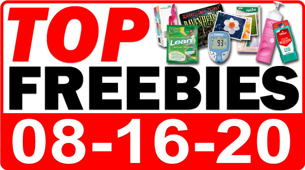 Top Freebies for August 16, 2020